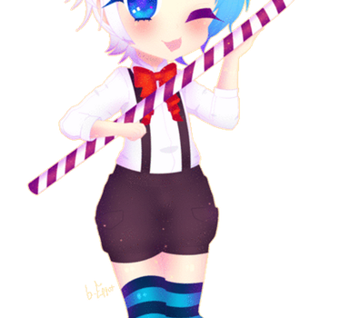 [C ~ Animated] Candy Cane Play Date by b-Eggot