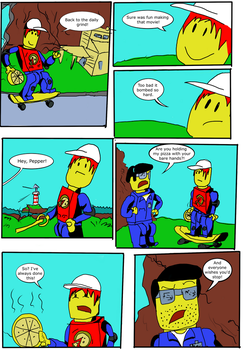 Lego Island Issue One: page 1 by Go-Faster-Wings
