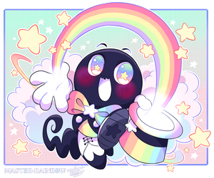 Super Kawaii Rainbow Maestro by MAST3R-RAINB0W