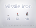 Missile Icon by CamiloMM