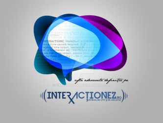 Interactionez.ro Wallpaper by christafan