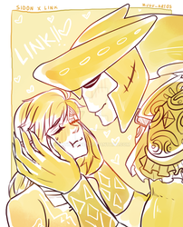 Sidon x Link..!! -CO- by NathyLove5
