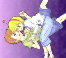 Little Jake And Sherry by MadeInHeavenFF15