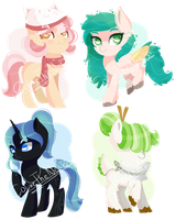 [CLOSED] Birthday Adopts [1SB] by ColineTheNeko