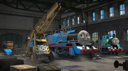 Thomas and the Shooting Star promo image by The-ARC-Minister