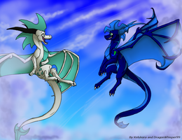 High Up In The Sky  Collab by Kelskora