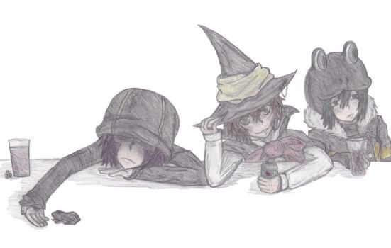 Hipster Magicians by GooddayRocker