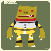 B is for Bossk by striffle