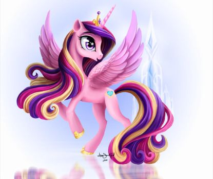 Princess Cadance by PaintedHoofprints