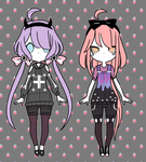 [humans] pastel goth girl point adopts (CLOSED) by MysteriousAdopts