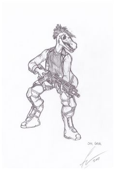 Request: Jok Grak Sketch by Chris000