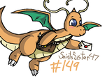 #149 Dragonite by SaintsSister47