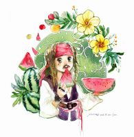 Jack and Watermelons by amoykid