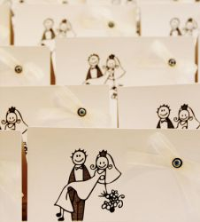 wedding invitation card's by cellists