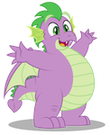 Grown up Spike - HUGZ! by AleximusPrime