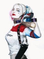Harley Quinn (drawing) by Quelchii