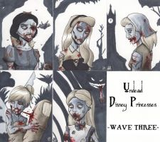 Undead Disney Princesses -Wave Three- by WillRipamonti