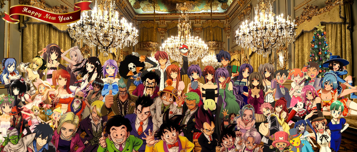anime happy new year 2015 2016 by cokedark11 on deviantart