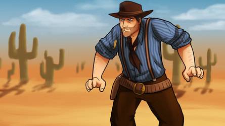 Commission: Red Dead Redemption 2 by Menaria
