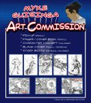 ART COMMISSION POSTER by Mykemanila