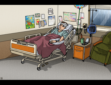 Hospital Scenes - Get Well Soon by MauserGirl