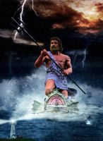 Anger of Poseidon by frenchfox