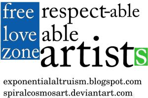 smallVersion of respectable artists by spiralcosmosart