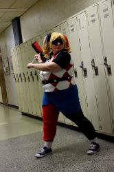 Cosplay - Harley Quinn the class clown by melodyselenee