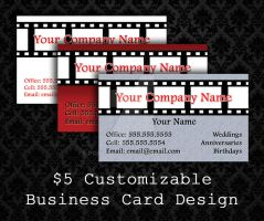 Customizable Business Cards - 09 by PointyHat