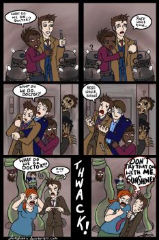 Why I love Donna Noble by joeywaii