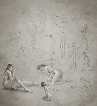 Daily Practice 01 25 2014, Figures by Eclectixx