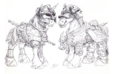 The War Horses by Wisdom-Thumbs