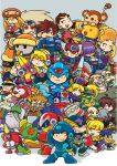 Megaman Tribute by vf02ss
