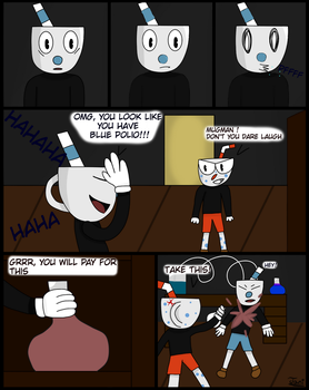 Lab catastrophy page 5 by Janidraw