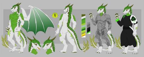 Dragon Ref by jeanwoof