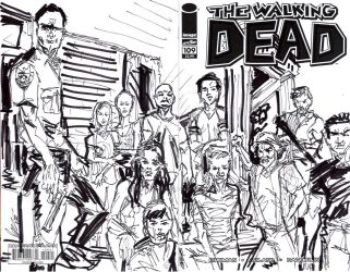 walking dead 109 by jose l rodrigues art by joselrodriguesart