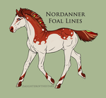 A4336 Nordanner Foal by Esa82