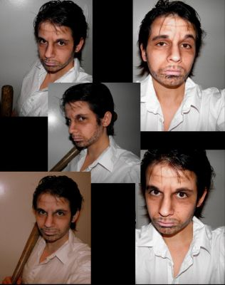 Left 4 dead 2, Make Up Test - Nick by cosmmoe