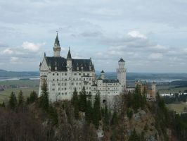 Neuschwanstein Castle Stock 01 by Malleni-Stock