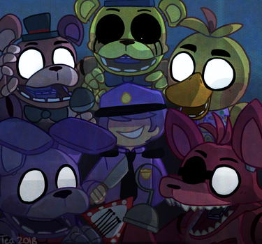 Five Nights by Puppiii
