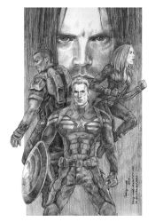 Captain America: The Winter Soldier by Taking-meds