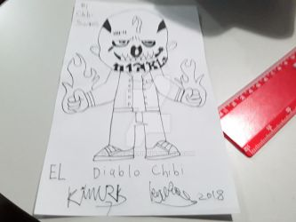 El Diablo Chibi sketch by killerk7