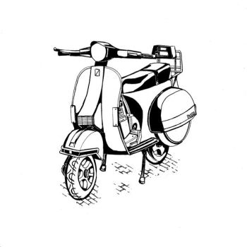 PX150 Scooter by Lankybean17