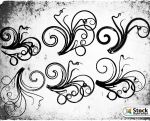 Free Floral Brushes by Stockgraphicdesigns