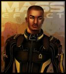 Mass Effect - Jacob Taylor by lux-rocha