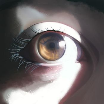Realistic Eye I by RagingBunny