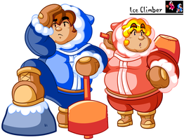 Ice Climber by JamesmanTheRegenold