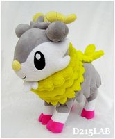 Shiny Skiddo Plush by d215lab