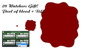 [MMD] Pool of blood + DL! 20 Watchers GIft! by SuzuneAyameCute