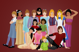 Disney Girls by FalseDisposition